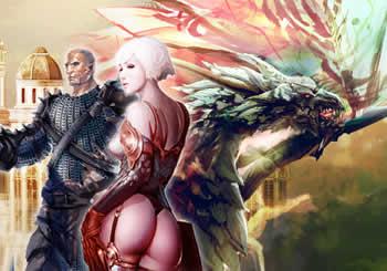 「DRAGON'S PROPHET」トップ背景画像