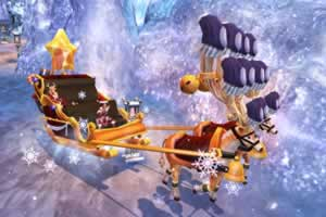 BOUNDRA、空飛ぶ雪そりが手に入るクリスマスイベント開催中!福袋「クリスマスぽん」登場!