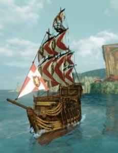 ArcheAge(アーキエイジ)_エノア中型帆船