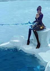 ArcheAge_アイスキングダムでのんびり氷上釣り!