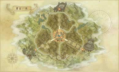 アーキエイジ_「饗宴の園」MAP