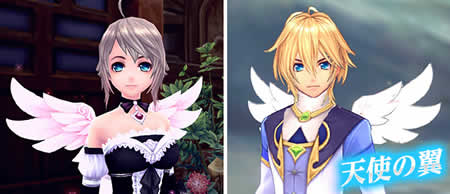 幻想神域_天使の翼アバター