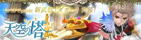 幻想神域_風が吹き抜けるような攻撃を繰り出す新武器「ダガー」登場
