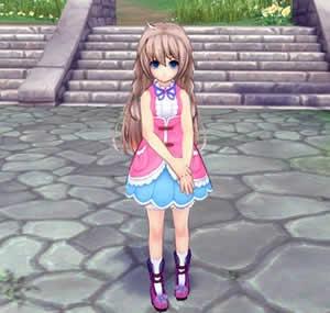 幻想神域 -Innocent World-_少女の祈り「ミミリー」
