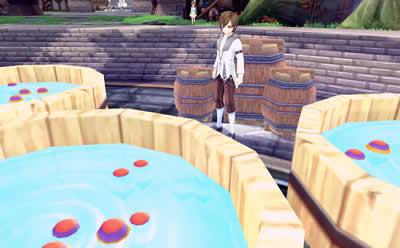 幻想神域 -Innocent World-_「夏祭りイベント」水風船釣り