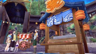 幻想神域 -Innocent World-_「夏祭りイベント」屋台