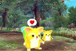 幻想神域、オープンβサービスが2013年10月24日15:00より開始します!参加特典は可愛いペット!
