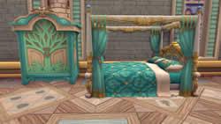 幻想神域 -Cross to Fate_家具だって自分好みの色にできちゃう