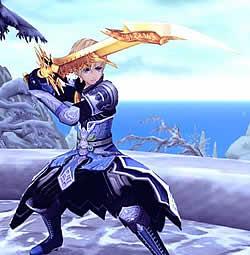 幻想神域 -Cross to Fate-_レベル80のPVP装備・太刀/ヴァイスの一傑刀