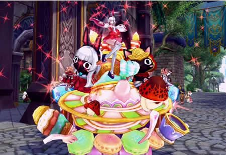 幻想神域_幻想神域2周年記念パレード」