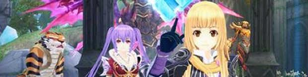 可愛らしいキャラクターとなってアニメチックな世界を冒険できる「幻想神域 –Cross to Fate-」