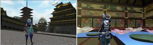 鬼斬、地下を巡る下水道、神楽幕府の拠点江戸城