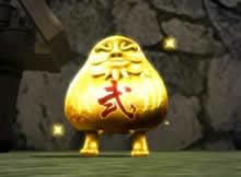 鬼斬_特殊モンスター「黄金だるま」