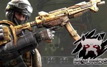 HOUNDS(ハウンズ)、新世代武器「T3」実装決定!報酬武器を獲得できる新イベント開催中!