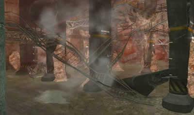 HOUNDS(ハウンズ)_敵の巣が張り巡らされている「都市下水路」