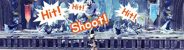 大人気イベント「雪上の狙撃手」