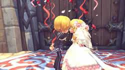 結婚式で永遠の愛を誓おう!