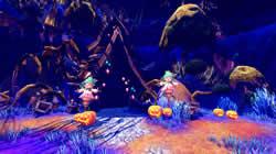 謎のかぼちゃ集団が出現!騒ぎをおさめる為に退治しよう!