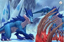 ハンターヒーロー_氷雪の秘境では通常よりも多くの経験値が獲得可能