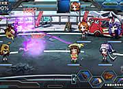 ロボットガールズZ ONLINE_戦闘シーン