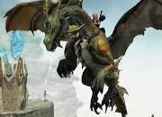 ドラゴンズプロフェット_ドラゴンにまたがって空へ!