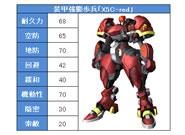 Webパワードール_装甲強襲歩兵「X5C-red」