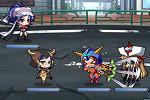 ロボットガールズZ_戦闘画面
