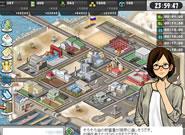大戦略WEB_ゲーム画面