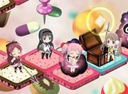 魔法少女まどか☆マギカ_ゲームはすごろく形式