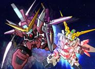 SDガンダムOP_デフォルメされたモビルスーツが戦う!