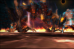 ファイナルファンタジーXIV_迫力の巨大ボスとの戦闘