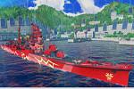 World of Warships_コラボ戦艦「ハグロ」