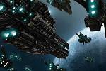 Conquerx2_宇宙空間での大規模バトル