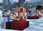 パーフェクト ワールド_イベントクエスト「サンタのプレゼント」のプレゼントの箱