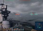 World of Warships(ワールド オブ ウォーシップス)_遠くに敵艦隊の気配が…