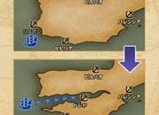 大航海時代�X_海図を変えると地形が変わる