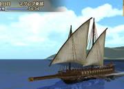 大航海時代�X_探検中はゆっくり船を眺められる