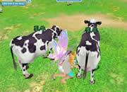 釣天使_牛の乳搾り