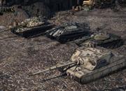 World of Tanks_迷彩の柄も色々