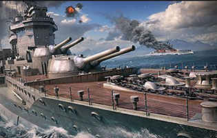World of Warshipsスクリーンショット